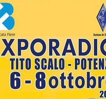 EXPORADIO-Tito Scalo Potenza 6-8 ottobre 2017