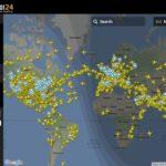 Fightradar24 il tracciamento dei voli aerei in live